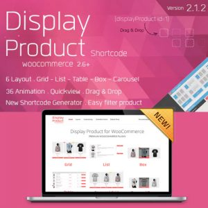 Display Product – Multi-Layout for WooCommerce