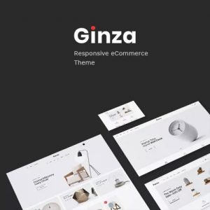 Ginza – Furniture Theme for WooCommerce WordPress