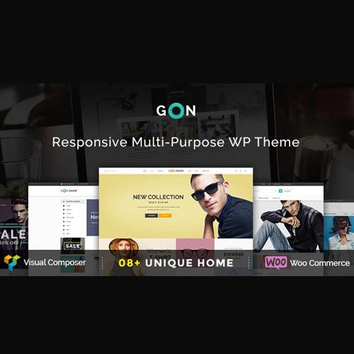 Gon | Responsive Multi-Purpose WordPress Theme