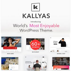 KALLYAS – Creative eCommerce Multi-Purpose WordPress ThemeKALLYAS – Creative eCommerce Multi-Purpose WordPress Theme