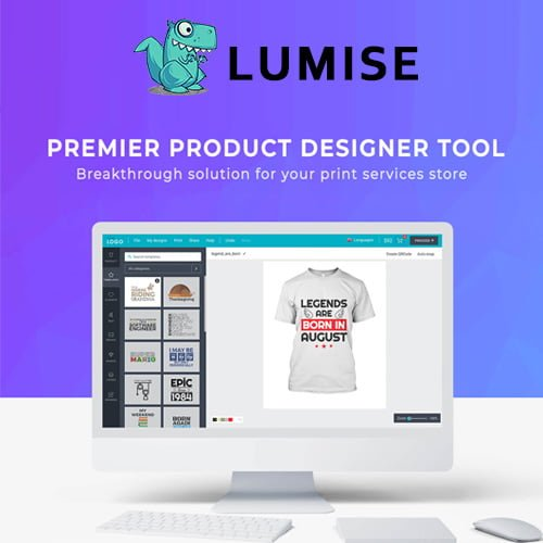 Lumise Product Designer WooCommerce WordPress