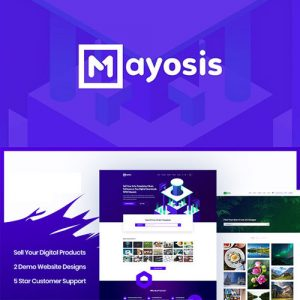 Mayosis – Digital Marketplace WordPress Theme
