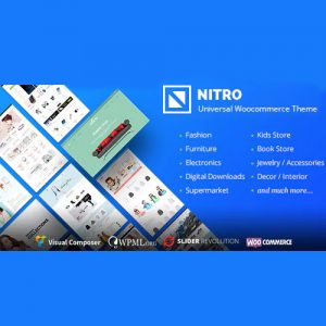 Nitro – Universal WooCommerce Theme from ecommerce experts