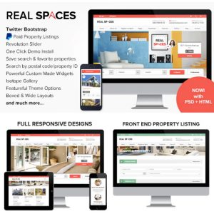 Real Spaces – WordPress Real Estate Theme