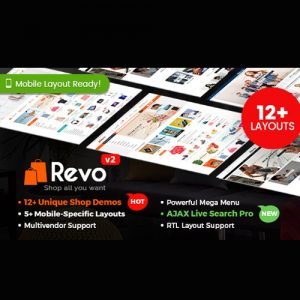 Revo – Multipurpose WooCommerce WordPress Theme