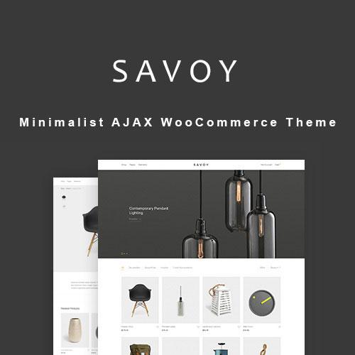 Savoy – Minimalist AJAX WooCommerce Theme