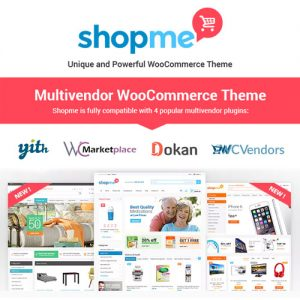 ShopMe – Multi Vendor Woocommerce WordPress Theme