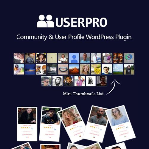 UserPro – Community and User Profile WordPress Plugin