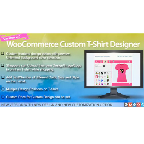 WooCommerce Custom T-Shirt Designer