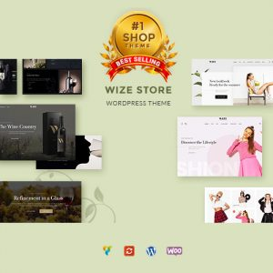 WooCommerce Multipurpose Responsive WordPress Theme – WizeStore