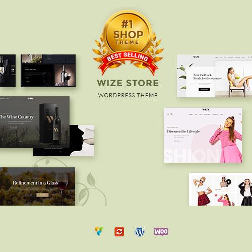 WooCommerce Multipurpose Responsive WordPress Theme – WizeStore