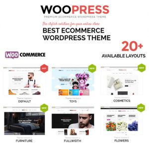 WooPress – Responsive Ecommerce WordPress Theme