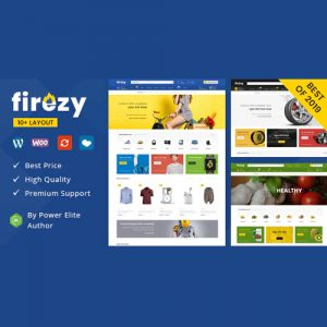 firezy – Multipurpose WooCommerce Theme