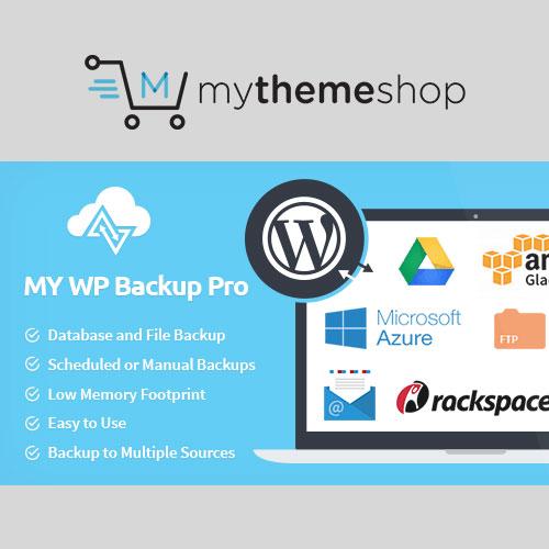 MyThemeShop My WP Backup Pro