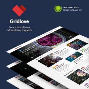 Gridlove WordPress Theme Premium Murah