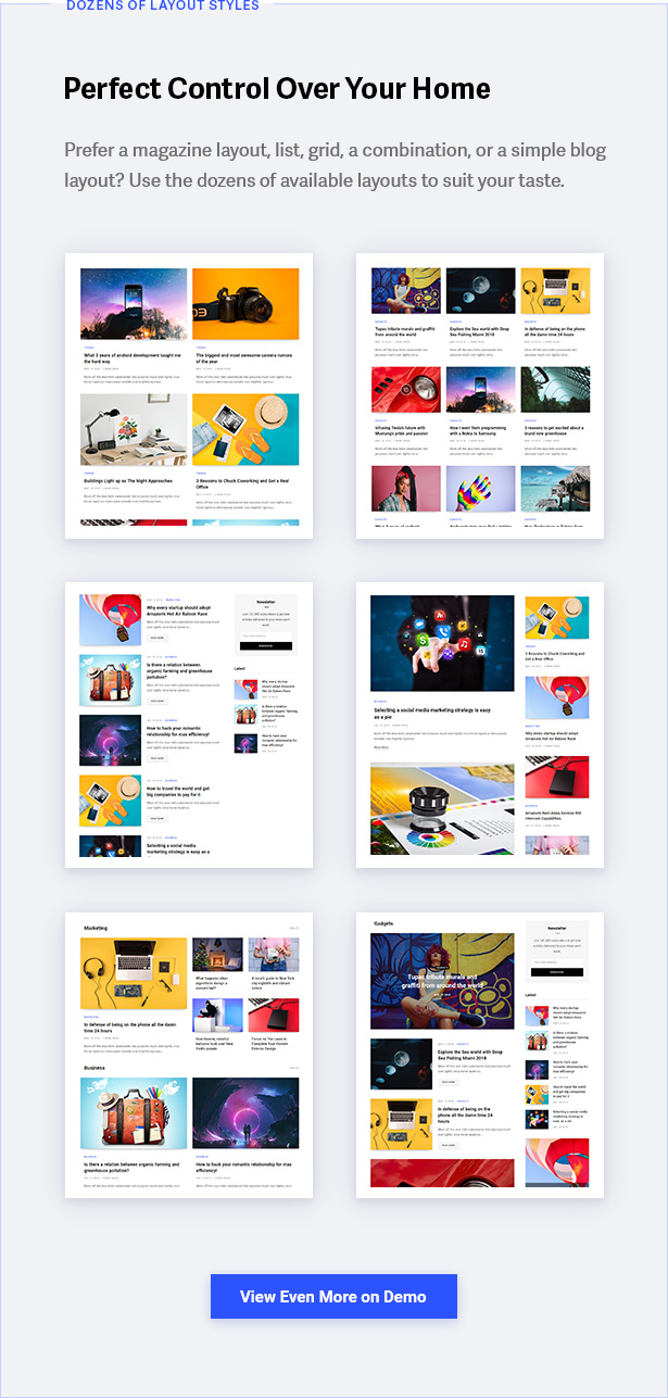 Content Marketing Theme – For Readable and Beautiful Blogs